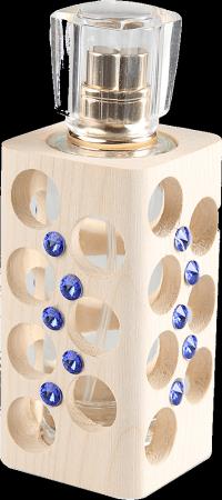 Luxusný tekutý parfum edícia Swarovski - modrý - 30 ml - náplň podľa výberu