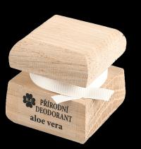 Prírodný krémový dezodorant s vôňou aloe vera a pridaným extraktom z aloe 30 ml
