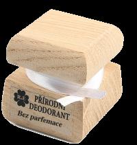Prírodný krémový dezodorant bez parfémov 15 ml