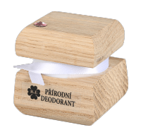 Prírodný krémový dezodorant edície Swarovski - ružový - 15 ml - náplň podľa výberu