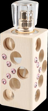 Luxusný tekutý parfum edícia Swarovski - ružový - 30 ml - náplň podľa výberu