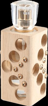 Luxusný tekutý parfum edícia Swarovski - zlatý - 30 ml - náplň podľa výberu