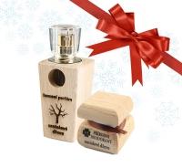 Pánsky vianočný balíček - Luxusný parfum a dezodorant Santalové drevo