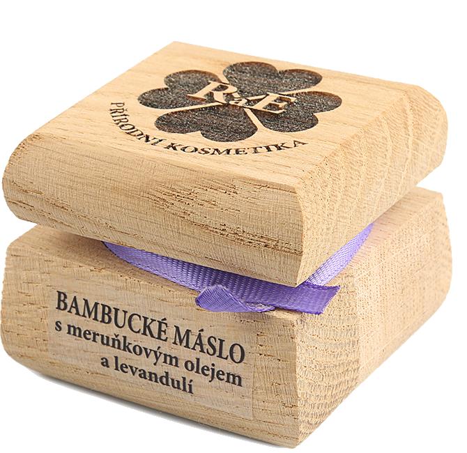 Bambucké telové maslo s levanduľou 50 ml
