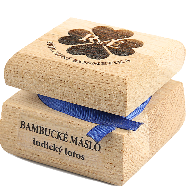 Bambucké telové maslo s vôňou indický lotos 50 ml