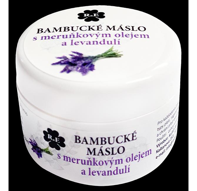 Bambucké tělové máslo s levandulí 30 ml
