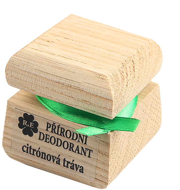 Prírodný krémový dezodorant s vôňou citrónovej trávy 50 ml