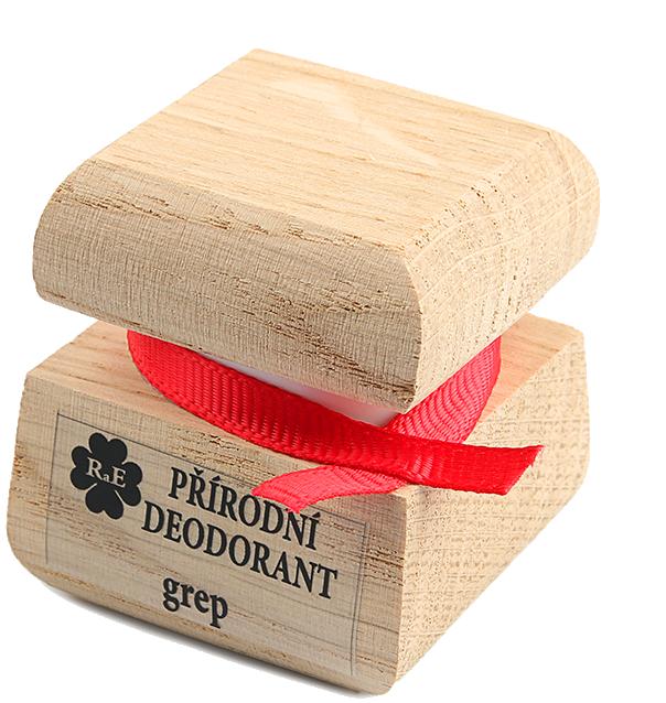 Prírodný krémový dezodorant s vôňou grepu 50 ml