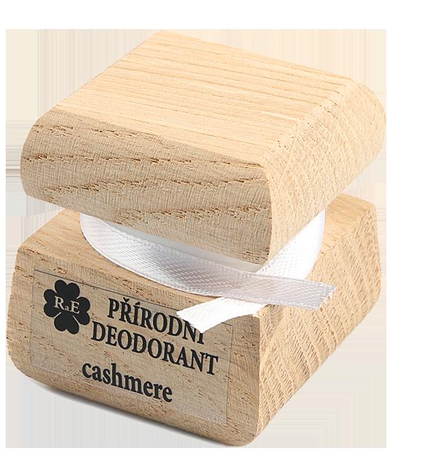 Prírodný krémový dezodorant s vôňou kašmíru 50 ml
