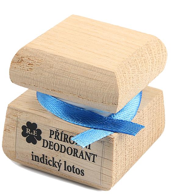 Prírodný krémový dezodorant s vôňou indického lotosa 50 ml