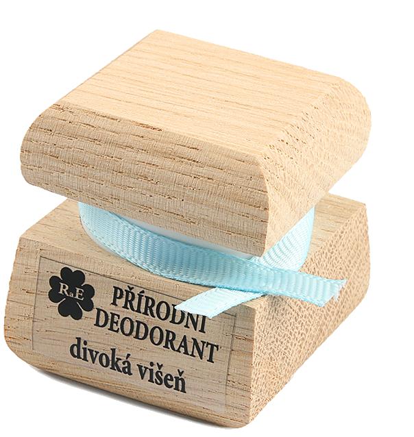 Prírodný krémový dezodorant s vôňou divokej višne 15 ml