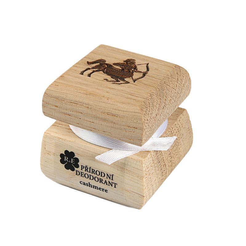 Prírodný krémový dezodorant s motívom - Strelec 15 ml