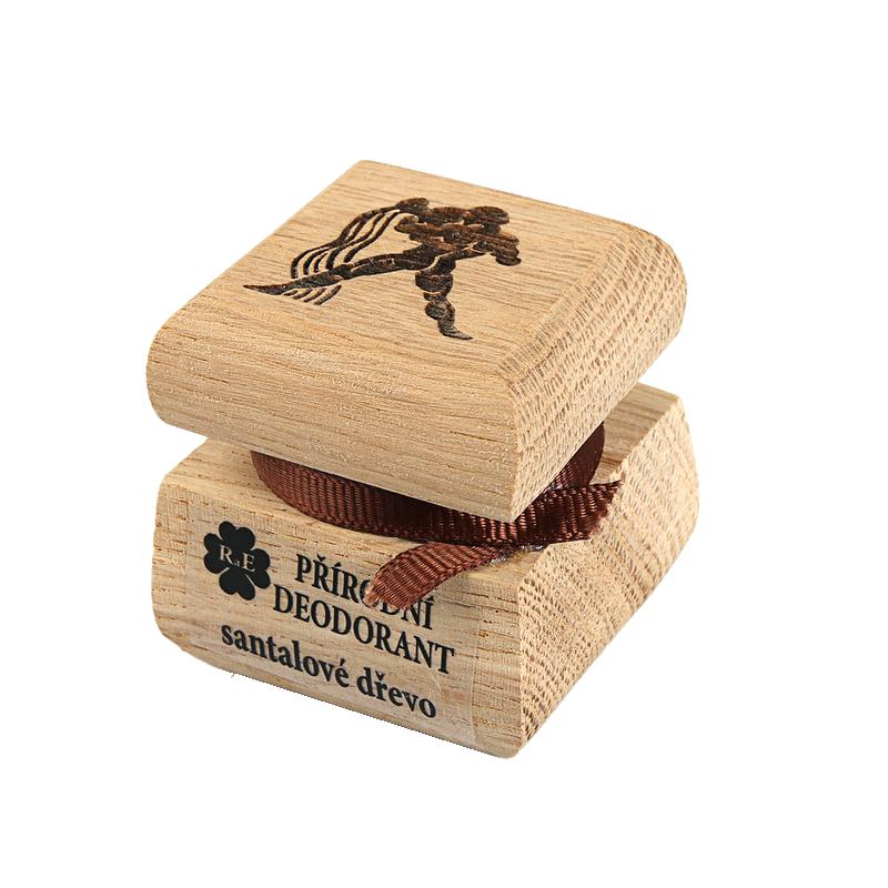 Prírodný krémový dezodorant s motívom - Vodnár 15 ml
