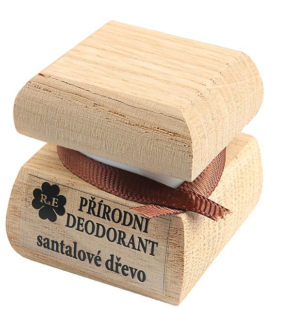 Prírodný krémový dezodorant s vôňou i santalového dreva 50 ml