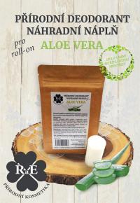 Náhradná náplň do prírodného deodorantu roll-on 22 g - Aloe Vera