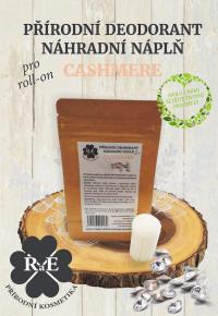 Náhradná náplň do prírodného deodorantu roll-on 22 g - Cashmere