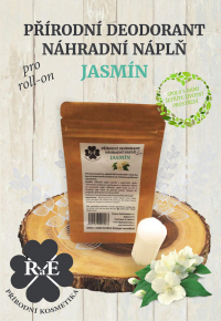 Náhradná náplň do prírodného deodorantu roll-on 22 g - Jazmín