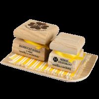 Bambucké telové maslo 50 ml + Krémový dezodorant Nature 15 ml - Vanilka a orchidea