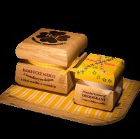 Bambucké telové maslo 50 ml + Krémový dezodorant Color 15 ml - Vanilka a orchidea