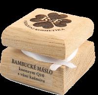 Bambucké telové maslo s koenzýmom Q10 s vôňou kašmíru 50 ml