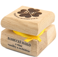 Bambucké telové maslo s vôňou vanilky a orchidei 50 ml