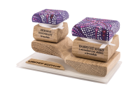 Farebná limitovaná edícia - Bambucké telové maslo 30 ml + Krémový deozdorant 15 ml - Marhuľa a Levanduľa
