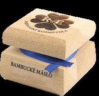 Bambucké telové maslo - 50 ml - s vlastným motívom