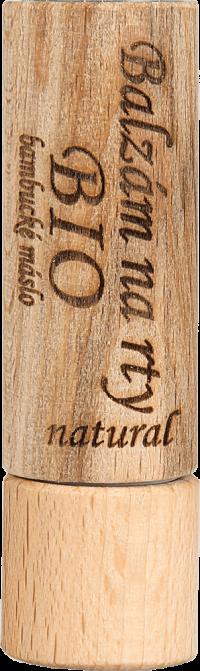 BIO balzam na pery natural 7,5 ml