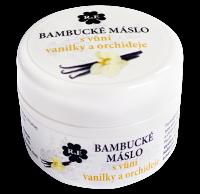 Bambucké tělové máslo s vůní vanilky a orchideje