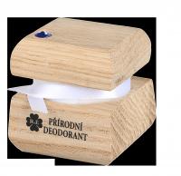 Prírodný krémový dezodorant edície Swarovski - modrý - 15 ml - náplň podľa výberu
