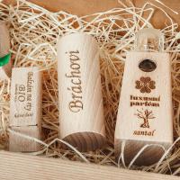 Pánský dárkový balíček - Parfém + Roll-on + Balzám