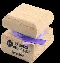 Prírodný krémový dezodorant s vôňou levandule 15 ml