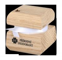 Prírodný krémový dezodorant edície Swarovski - zlatý - 15 ml - náplň podľa výberu