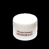 Prírodný krémový dezodorant 50 ml - náplň (vôňa podľa výberu)