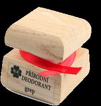 Prírodný krémový dezodorant s vôňou grepu 15 ml