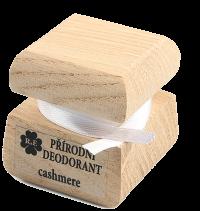 Prírodný krémový dezodorant s vôňou kašmíru 15 ml