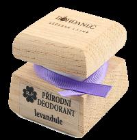 Prírodný krémový dezodorant - 15 ml - s vlastným motívom