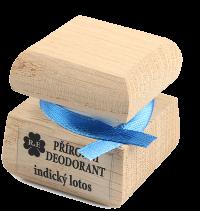 Prírodný krémový dezodorant s vôňou indický lotos 15 ml