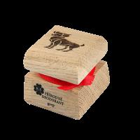 Prírodný krémový dezodorant s motívom - Baran 15 ml
