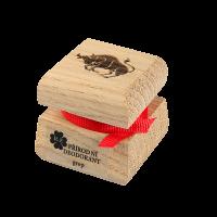 Prírodný krémový dezodorant s motívom - Býk 15 ml