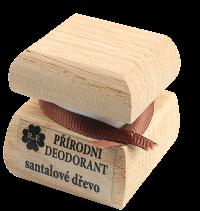 Prírodný krémový dezodorant s vôňou i santalového dreva 15 ml