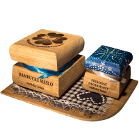 Bambucké telové maslo 50 ml + Krémový dezodorant Color 15 ml - Indický lotos
