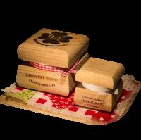 Bambucké telové maslo Q10 + Krémový dezodorant Nature - Cashmere