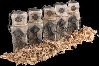 Luxusný parfum Santal v brúsenem dreve - 30 ml