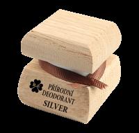 Prírodný krémový dezodorant Silver 15 ml